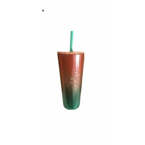 NEW Starbucks Watermelon 2020 Pink Green Ombre Cup